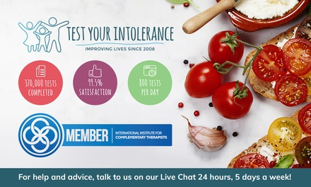 Food Intolerance Test: From $29 for One Person, $59 for Two or $79 for Up to Four People (Up to $238 Value)
