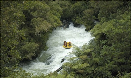 Whitewater Rafting for One ($72), Two ($144) or Six People ($425) with Kaitiaki Adventures, Rotorua (Up to $804 Value)