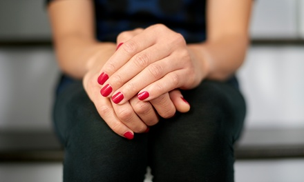 Choice of OPI Gel Colour Manicure ($26), Pedicure ($28), or Both ($52) at Luxe Beauty Studio (Up to $123 Value)