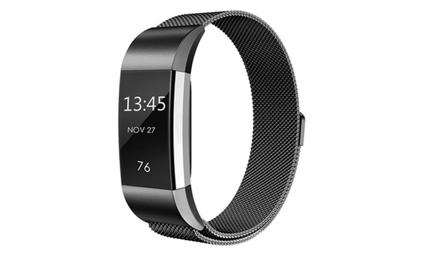 Milanese Loop Replacement Band for Fitbit Alta or Charge 2: One ($15) or Two ($25)