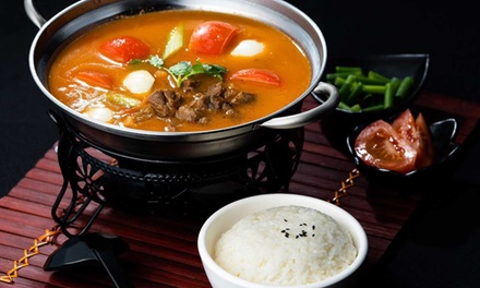 Two Course Chinese Dinner with Beer for Two ($39) or Four People ($77) at Godzilla Crayfish (Up to $160 Value)
