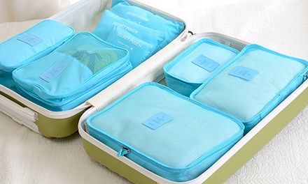 Six Piece Travel Organiser Set: One ($14.95) or Two ($24.95)