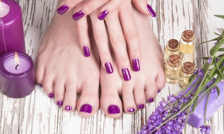 $25 Gel Manicure, $29 Gel Pedicure, or $54 for Both at Paris Nails & Beauty, Newmarket (Up to $95 Value)