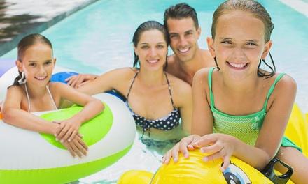 Parakai Springs Pool & Water Slide: Toddler Aged 2 4 ($3), Child Aged 5 15 ($7), Senior ($8), Adult ($13), Family ($40)