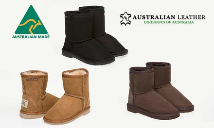 $49 for a Pair of Australian Leather Kids Classic Short UGG Boots