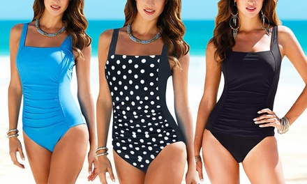 Tummy Control One Piece Swimsuit: One ($15) or Two ($25)