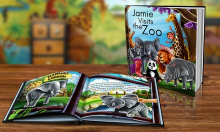Dinkleboo Personalised Childrens Storybook in Soft (from $9.99) or Hardcover (from $16.99) (Dont Pay up to $79.98)