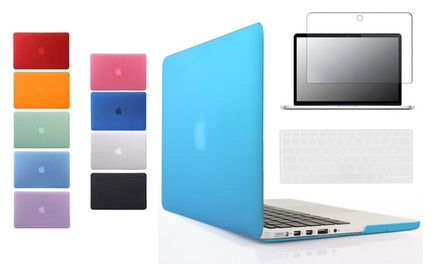 From $25 for a MacBook Protective Bundle including Case, Keyboard Cover and Screen Protector