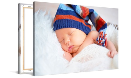 From $8.99 for a Personalised Photo Canvas Print (Don't Pay up to $233.80)