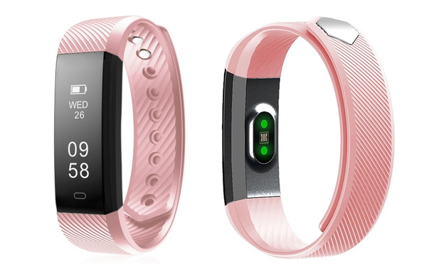 Touch Screen Fitness Tracker ($19.95) with Heart Rate Monitor ($29.95)