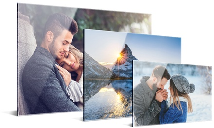 Acrylic Prints in a Choice of Size: One (from $6.99), Two (from $12.99) or Three (from $19.99) (Don't Pay up to $230.70)