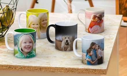 Personalised Mug in a Range of Styles: One (from $8.99) or Two (from $14.99) (Dont Pay up to $125.80)