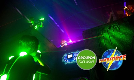 Laser Tag: 1 Game for 2 ($12) or 2 Games for 10 People ($165) at Laser Force (Up to $220 Value)