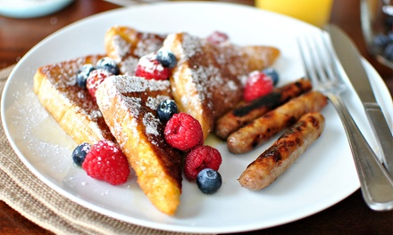 Two ($20) or Four ($40) Breakfast or Lunch Mains at My French Larder (Up to $68 Value)